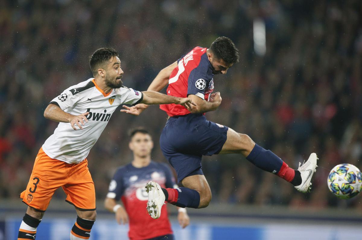 Футбол Валенсия - Лилль прямая трансляция 05.11.19 смотреть онлайн